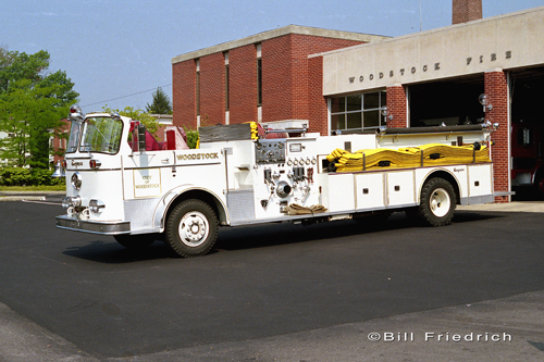 City of Woodstock Fire Department 1967 Seagrave Quad