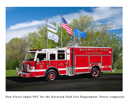 Pierce Impel PUC for Norwood Park Fire Department