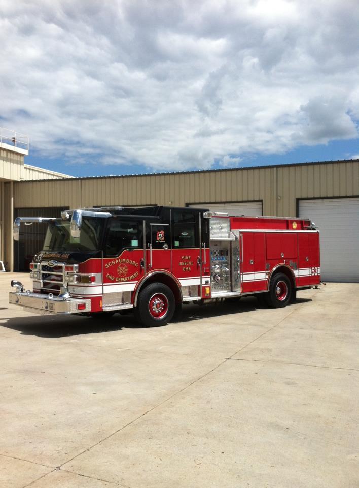 Schaumburg Fire Department Engine 53 Pierce Impel