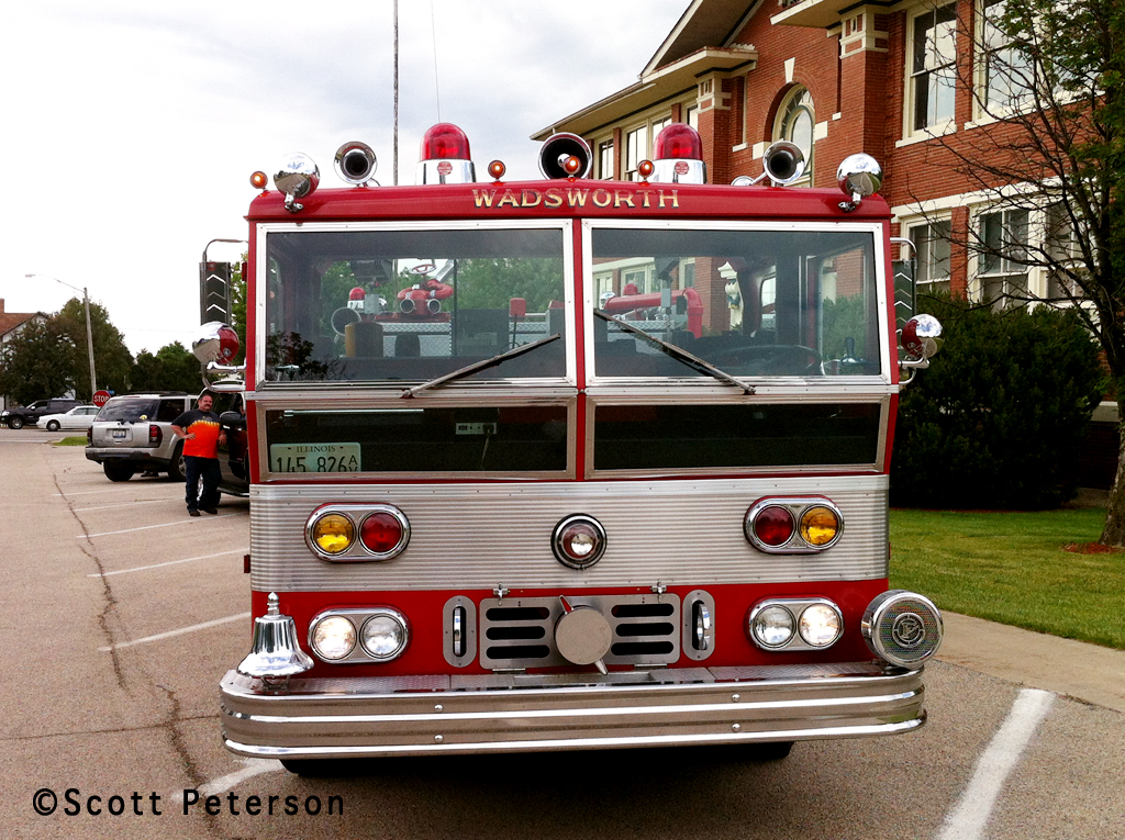 1975 Ward LaFrance Ambassador engine Wadsworth OH