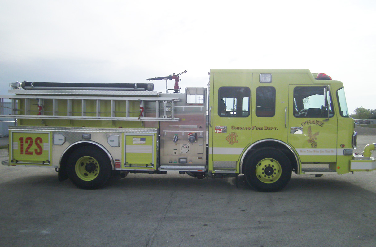 new Spartan ERV engine for O'Hare Airport