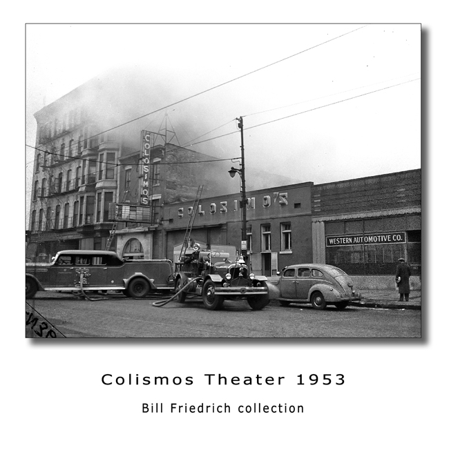 1953 Chicago Fire Department Colismos Theater fire