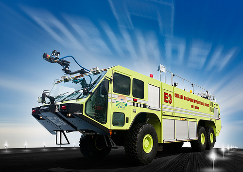 Oskkosh Striker ARFF for Rockford Airport