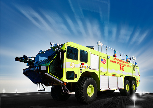 Oskkosh Striker ARFF for O'Hare Airport