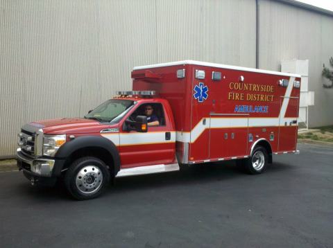 Countryside FPD Ford 4x4 Horton Type I ambulance