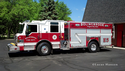 Bolingbrook Fire Department Engine 5 2012 Pierce Impel PUC
