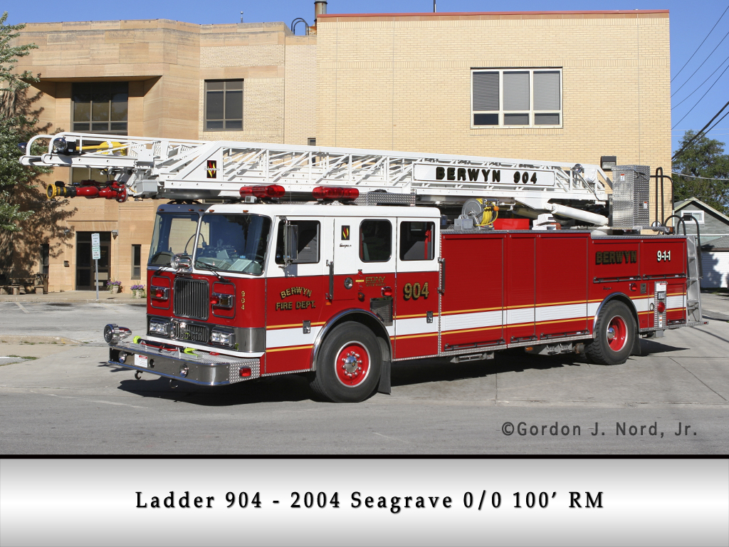 Berwyn Fire Department Ladder 904