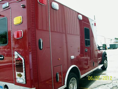 Bridgeview Fire Department ambulance being built