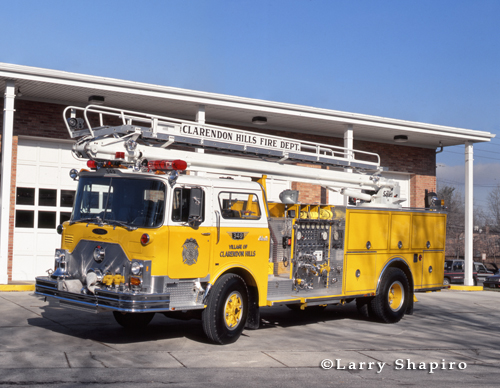 Clarendon Hills Fire Department Mack Pierce TeleSqurt
