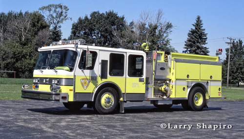 Darien-Woodridge Fire Protection District engine