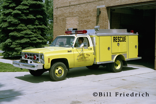 Forest View Fire Department EONE small rescue