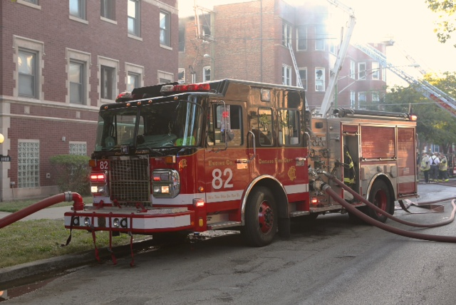 Chicago Fire Department 3-11 Alarm Fire at 714 E. 82nd Street