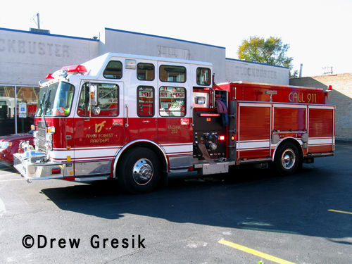 River Forest Fire Department Engine 222