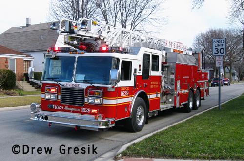 Riverside Fire Department Truck 1629