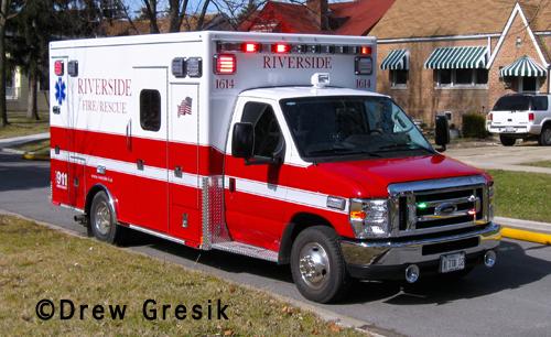 Riverside Fire Department Ambulance 1614