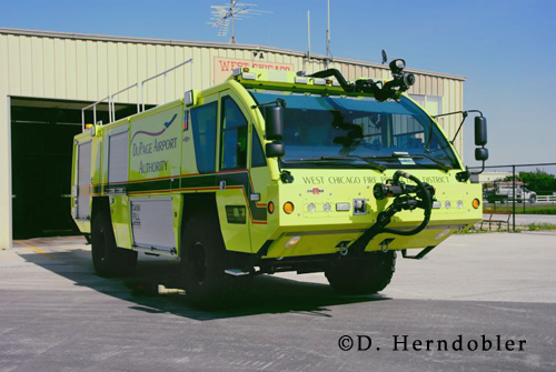West Chicago Fire Protection District ARFF Squad 8