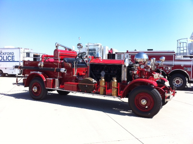 Ahrens Fox pumper