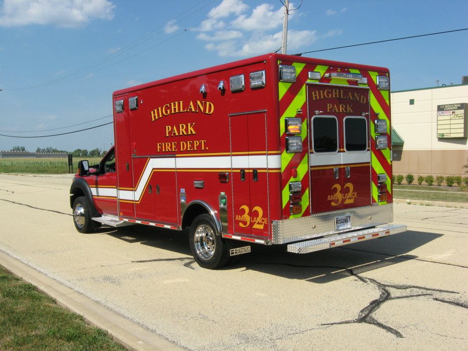 Highland Park Fire Department Ambulance 32 from Horton