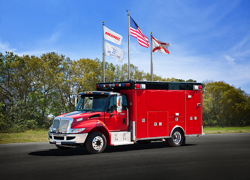 Glenside FPD Medtec ambulance