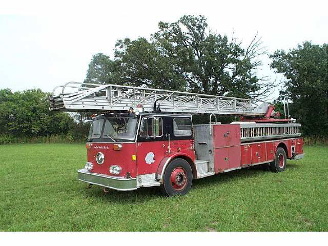 old Chicago Seagrave aerial
