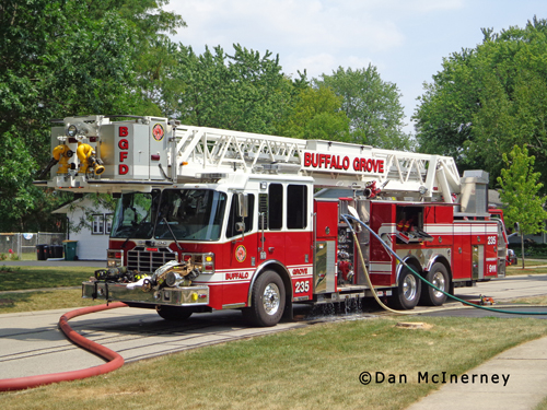 Buffalo Grove Fire Department 214 Navajo Trail Tower Ladder 25