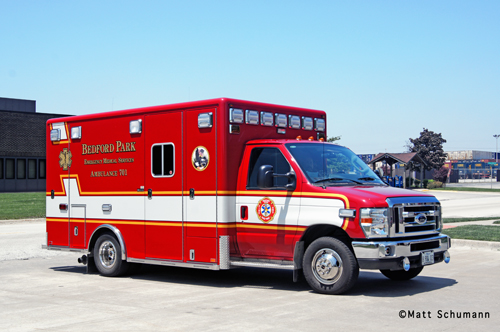 Bedford Park Fire Department Ambulance 701