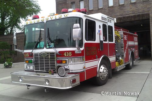 Bridgeview Fire Department Engine 416