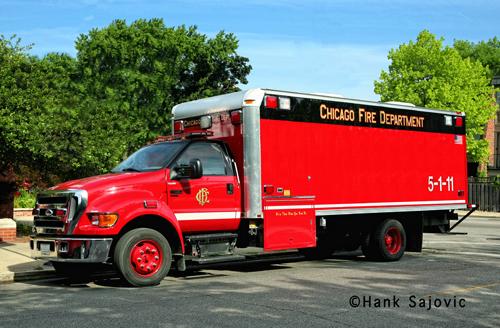 Chicago Fire Department Hazardous Incident Team Haz Mat Unit