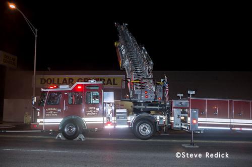 Cicero Fire Department Dollar Store fire 7-31-12