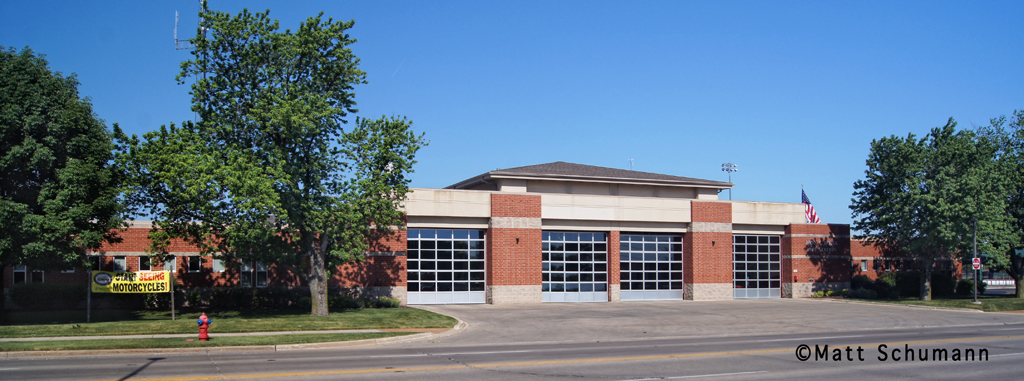 Evergreen Park Fire Department station