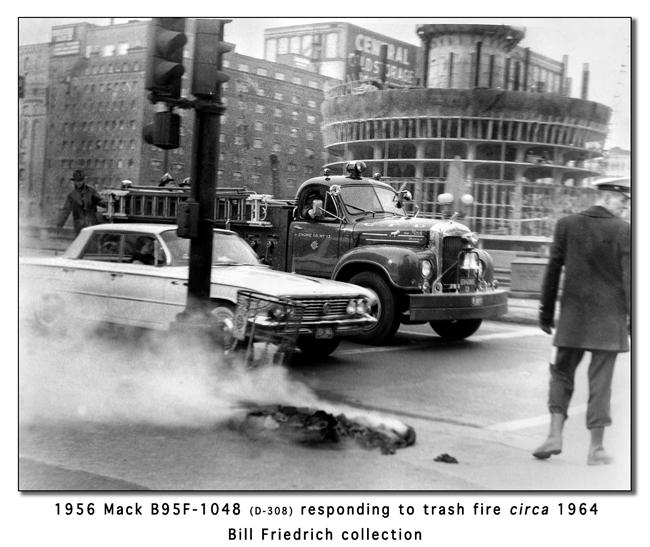 Chicago Fire Department B-Model Mack engine 13
