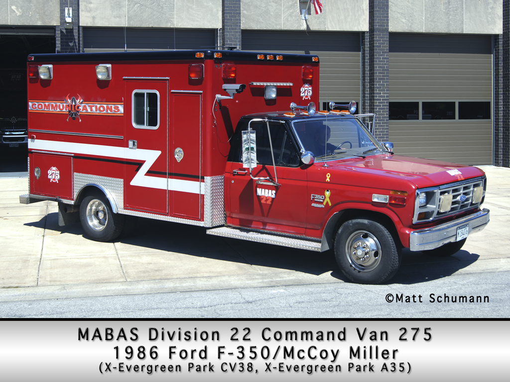 MABAS Division 22 Command Van 275