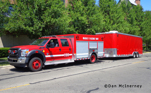 MABAS Division 11 Haz Mat Unit 1100 Ford F550 Marion
