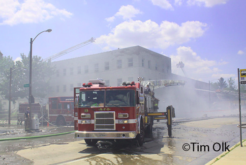Milwaukee Fire Dept 5-11 Alarm Fire 631 East Center 100 Degree Temps