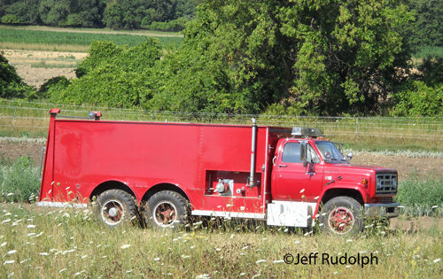 Newport Township FPD used Welch tanker