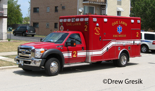 Oak Lawn Fire Department Medic Unit