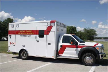 McHenry Township Fire Protection District new ambulance