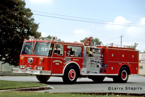 Vernon Township Fire Protection District 1981 Seagrave WB engine