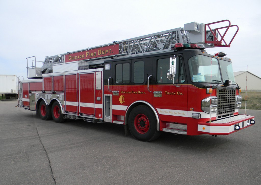 Chicago Fire Department SpartanAR aerial