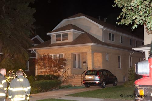 Arlington Heights Fire Department fire on Walnut Avenue 8-21-12