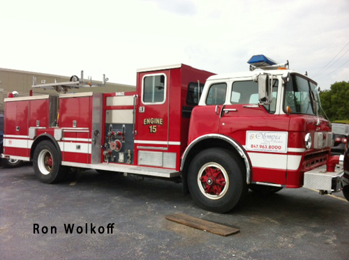 1989 Ford Darley fire engine