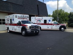 Wheeled Coach ambulances for the Bolingbrook Fire Department