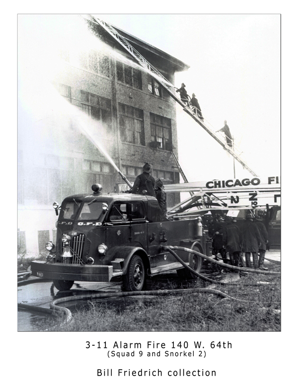 Historic Chicago 3-11 Alarm fire on 64th Street