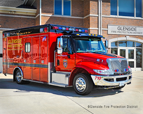 Glenside Fire Protection District Medic 710 2012 Medtec