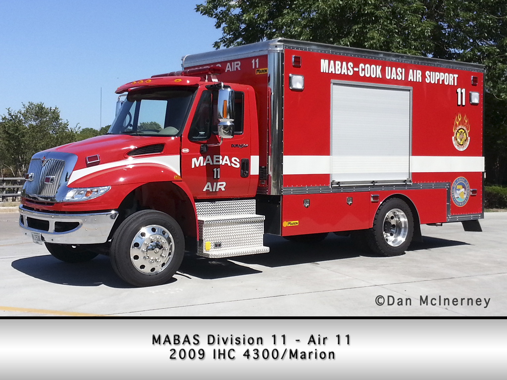 MABAS Division 11 Mobile Air Cascade Unit Air 11 Oak Park Fire Department