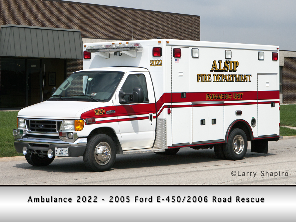 Alsip Fire Department Ambulance 2022