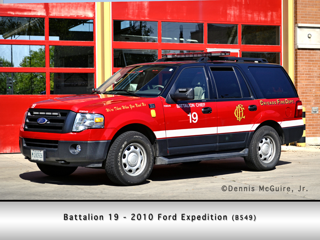 Chicago Fire Department Battalion Chief 19