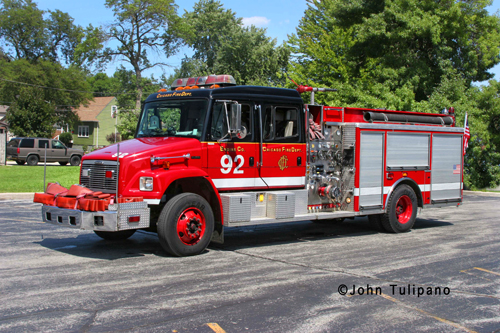 Chicago Fire Department Engine 92 Freightliner American LaFrance