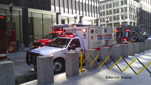 Chicago Fire Department haz mat response