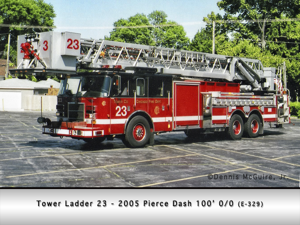 Chicago Fire Department Tower Ladder 23